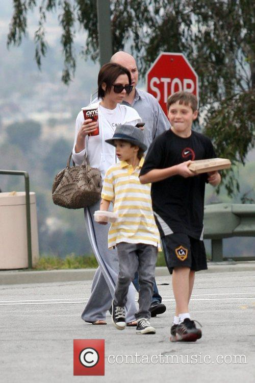 Victoria Beckham, Romeo and Brooklyn 1