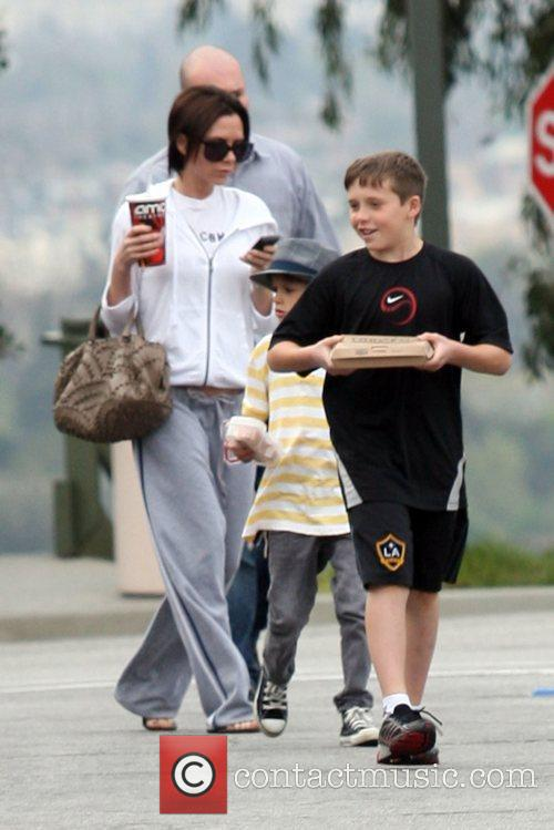 Victoria Beckham, Romeo and Brooklyn 2
