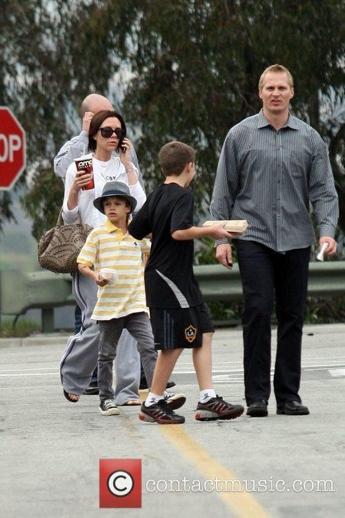 Victoria Beckham, Romeo and Brooklyn 10