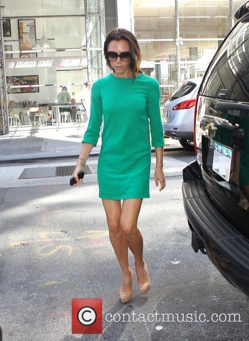 Victoria Beckham out and about in New York...