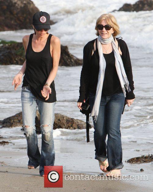 Victoria Beckham and Sandra Beckham