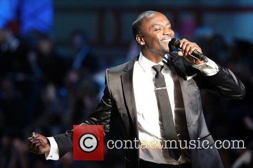 Akon 2010 Victoria Secret Fashion Show held at...