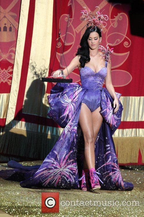 Katy Perry 2010 Victoria Secret Fashion Show held...