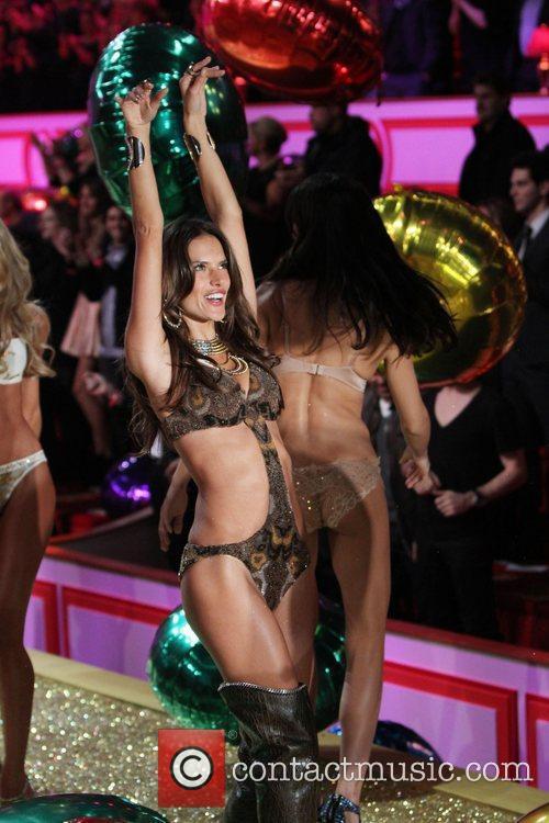 Alessandra Ambrosio 2010 Victoria's Secret Fashin Show held...