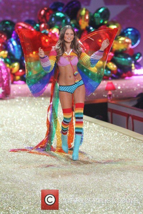 Behati Prinsloo 2010 Victoria's Secret Fashin Show held...