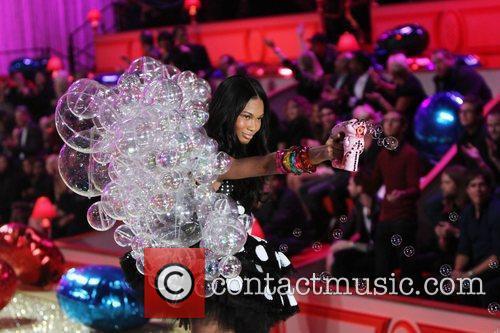 Chanel Iman 2010 Victoria's Secret Fashin Show held...