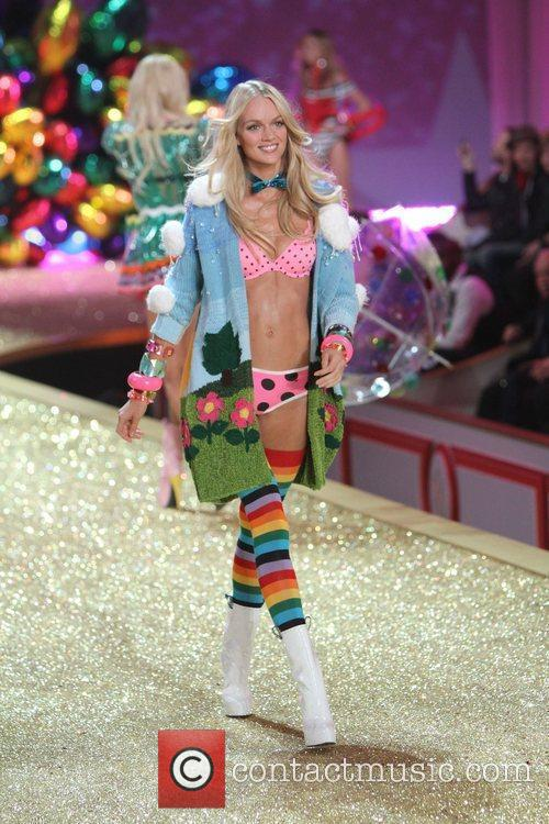 Lindsay Ellingson 2010 Victoria's Secret Fashin Show held...