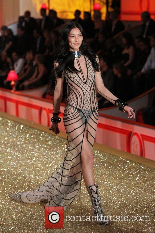 Liu Wen 2010 Victoria's Secret Fashin Show held...