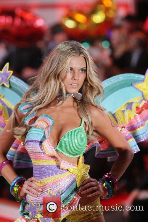 Maryna Linchuk 2010 Victoria's Secret Fashion Show held...