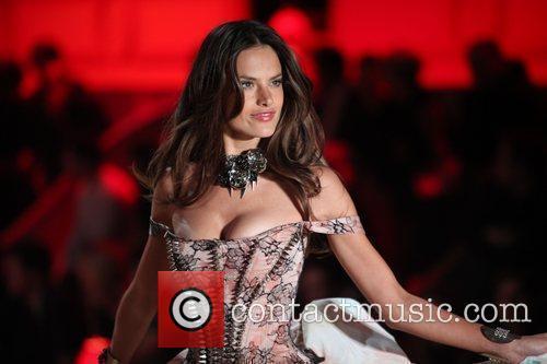 Alessandra Ambrosio 2010 Victoria's Secret Fashion Show held...