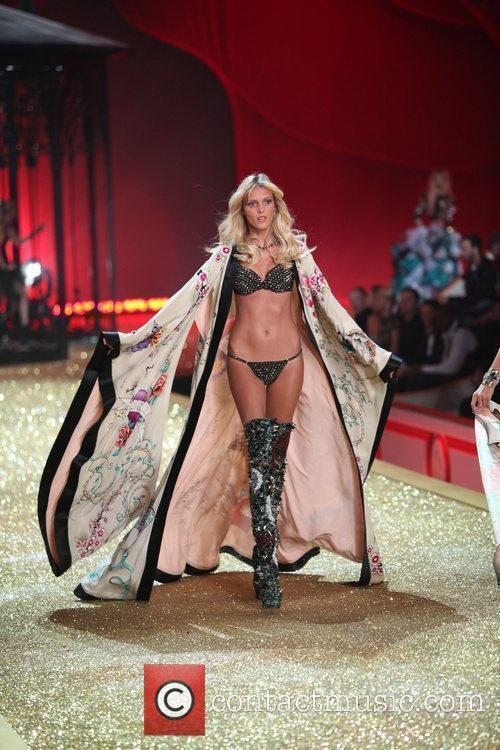Anja Rubik 2010 Victoria's Secret Fashion Show held...