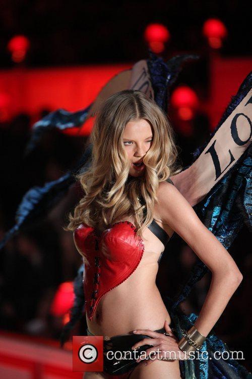 Magdalena Frakowiak 2010 Victoria's Secret Fashion Show held...