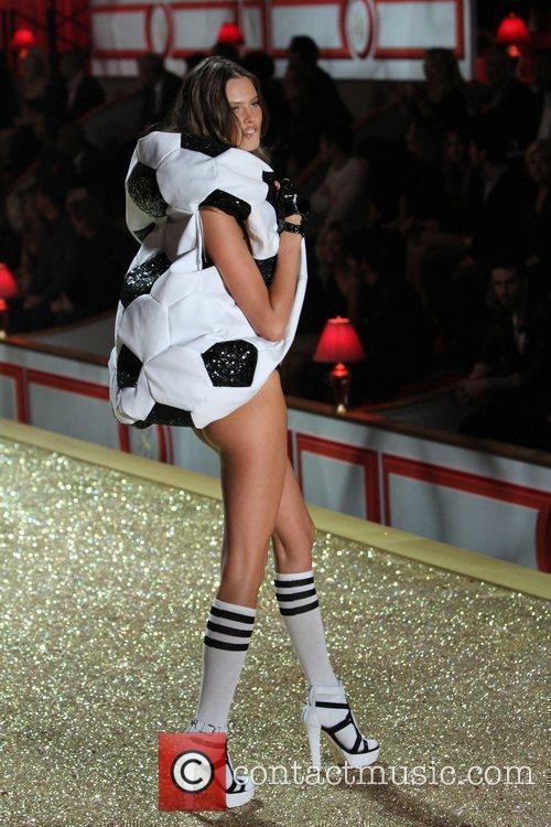 Behati Prinsloo 2010 Victoria's Secret Fashion Show held...