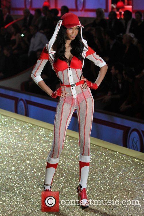 Chanel Iman 2010 Victoria's Secret Fashion Show held...