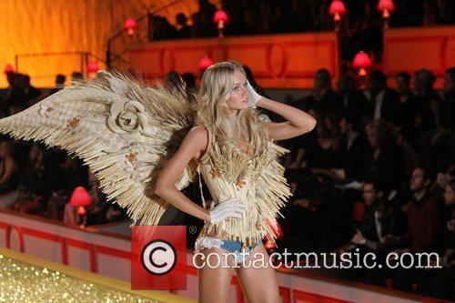 Jessica Stam 2010 Victoria's Secret Fashion Show held...