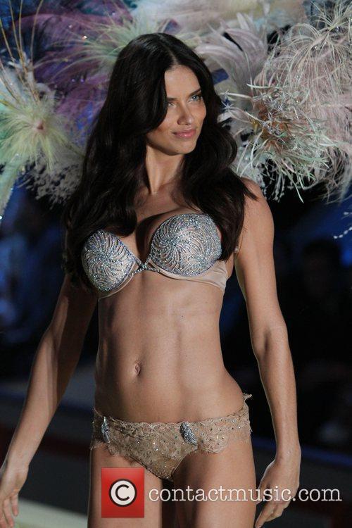 Adrianna Lima 2010 Victoria's Secret Fashion Show held...