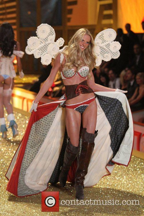 Anne Vyalitsina 2010 Victoria's Secret Fashion Show held...