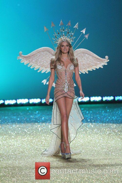 Lily Donaldson 2010 Victoria's Secret Fashion Show held...