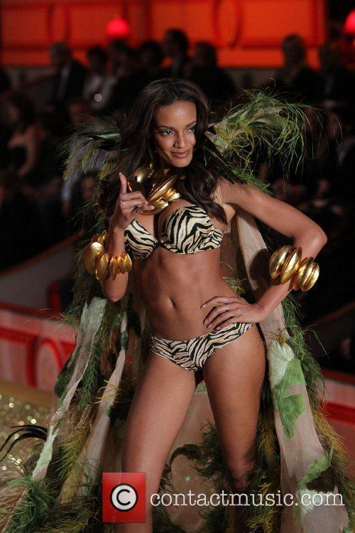 Selita Ebanks 2010 Victoria's Secret Fashion Show held...
