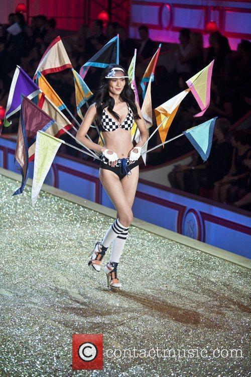 Model  2010 Victoria's Secret Fashion Show held...