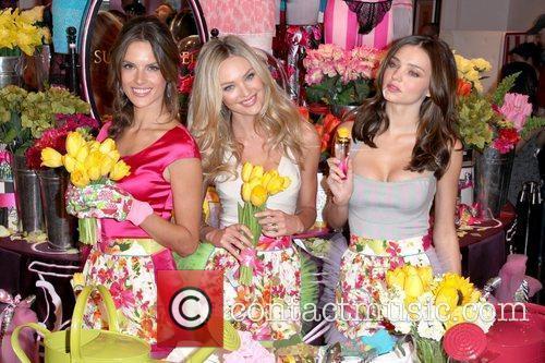 Alessandra Ambrosio, Candice Swanepoel and Miranda Kerr 2