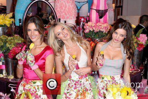 Alessandra Ambrosio, Candice Swanepoel and Miranda Kerr 1