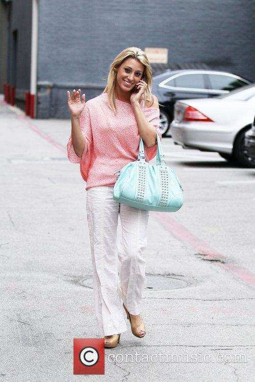 Vienna Girardi visits Batia & Aleeza Beauty Salon...
