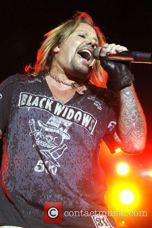 Vince Neil performs at the Cruzan Rum Campfire...