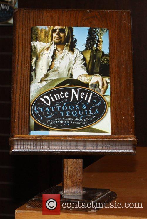 Vince Neil of Motley Crue attends a book...