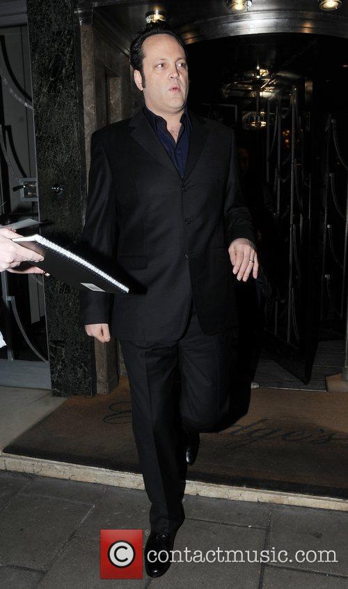 Leaving his London hotel