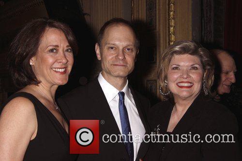 Karen Ziemba and David Hyde Pierce 4