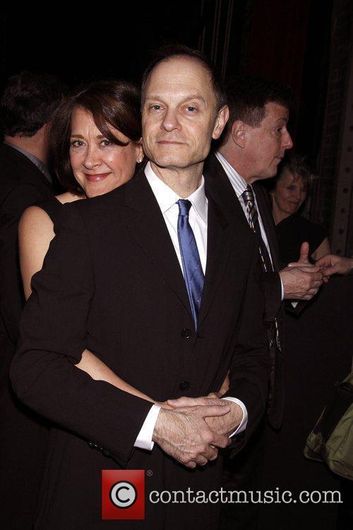 Karen Ziemba and David Hyde Pierce 3