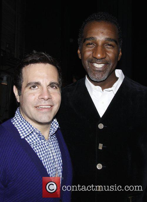 Mario Cantone and Norm Lewis