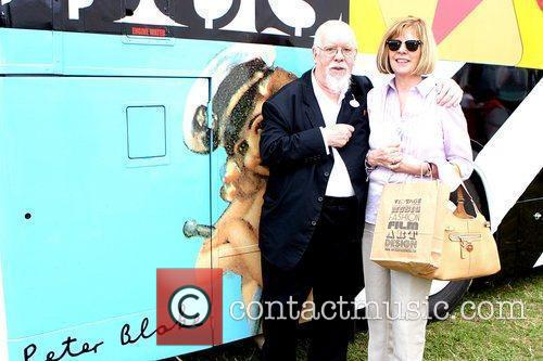By the Peter Blake Bus at 'Vintage at...
