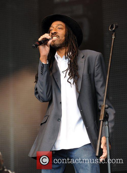 Aswad performs at 'Vintage at Goodwood' summer festival....