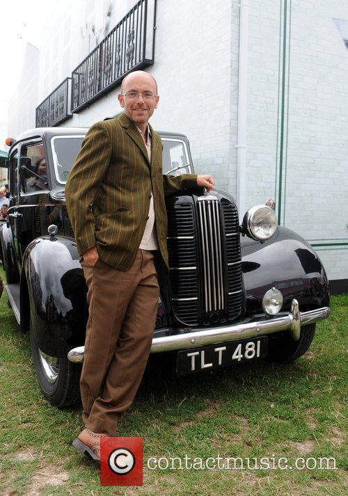 During the 'Vintage at Goodwood' summer festival.
