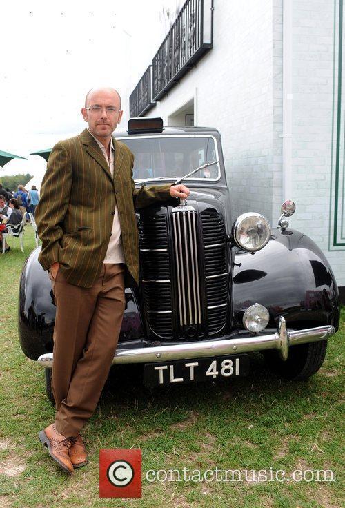 Festival organiser Wayne Hemingway  during the 'Vintage...