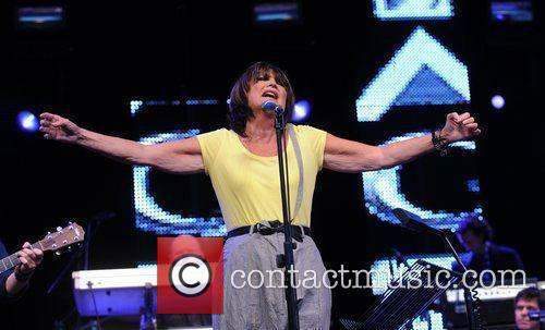 Sandie Shaw performs  during the 'Vintage at...