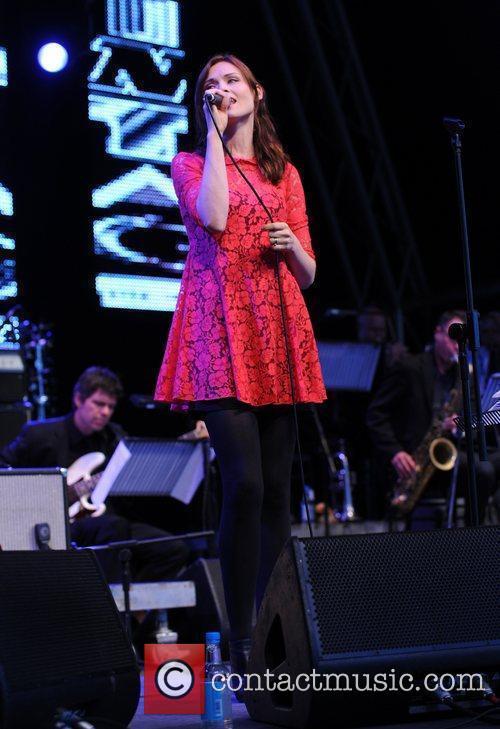 Sophie Ellis Bextor performs during the 'Vintage at...