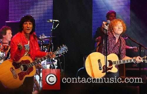 Ronnie Wood, Mick Hucknall