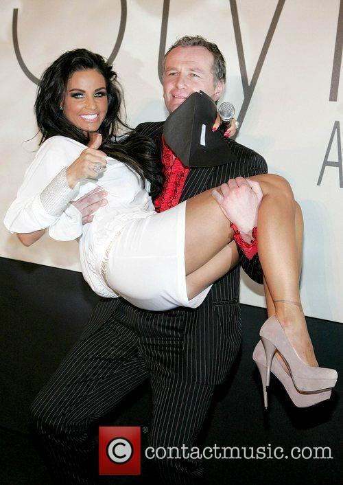 Katie Price and Presenting The Prize For Ireland's Most Stylish Man To Peter Mark 1