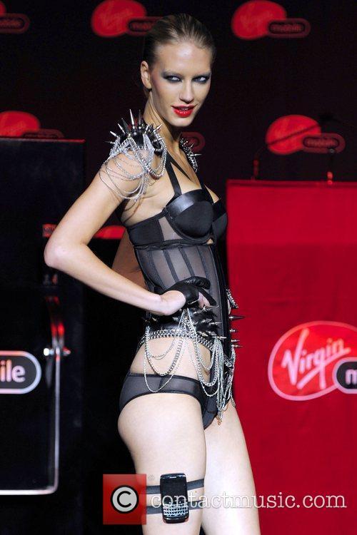 Amy Hixson Launch of Virgin Mobile's HSPA+ mobile...