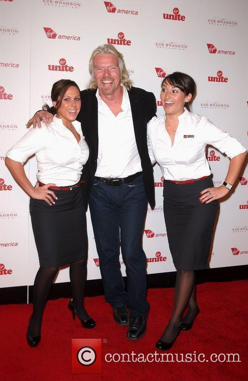 Richard Branson and Chandler 6