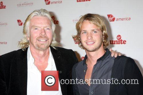 Richard Branson and Chandler 10