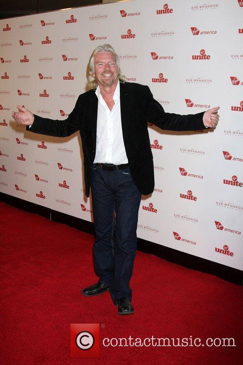 Richard Branson and Chandler 11