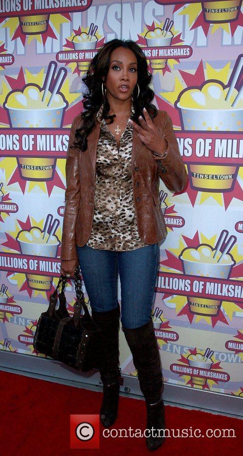Vivica A Fox  at Millions of Milkshakes...