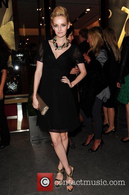 Lydia Hearst Vogue & Hogan fashion night out...
