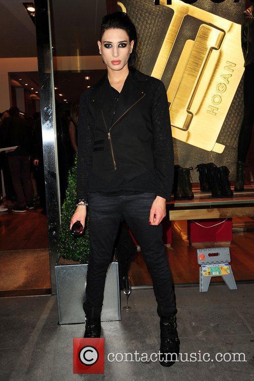 Natt Weller Vogue & Hogan fashion night out...