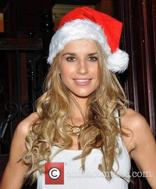 Model Vogue Williams helps re-launch the Live Entertainment...