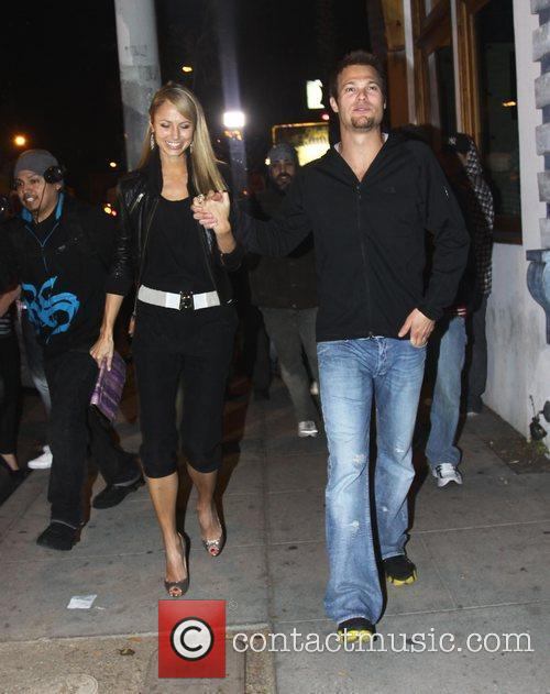 Outside Voyeur nightclub in West Hollywood